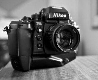 Nikon F4 Film Kamera