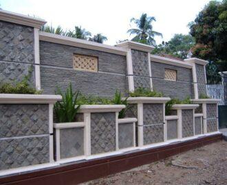 Pagar Rumah Minimalis Yang Modern Dan Aman Dari Batu Alam Megah