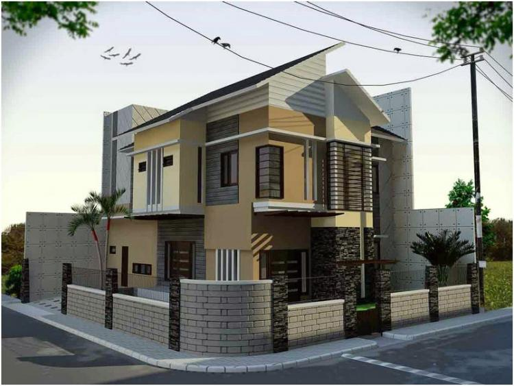 Tips Membuat Desain Model Pagar Rumah Minimalis Dengan Pola Tata Ruang Eksterior
