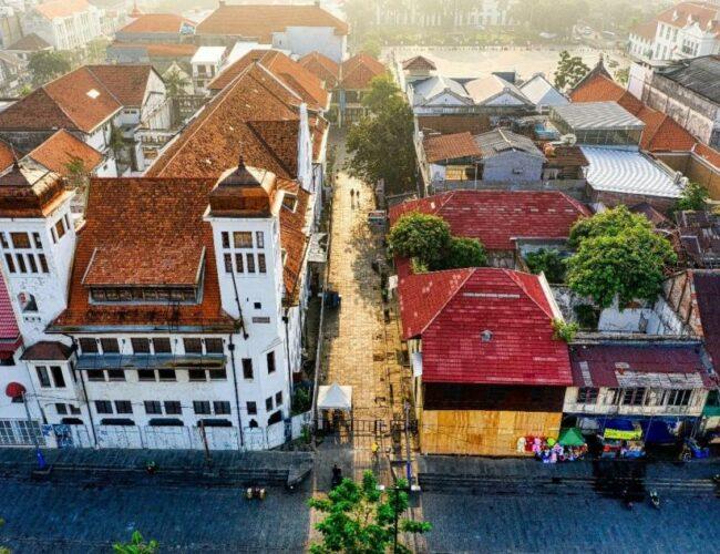 Sensasi Jakarta Tempo Dulu di Sekitar Hotel di Pasar Baru